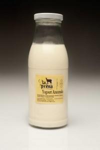 yogur ecologico de cabra azucarado
